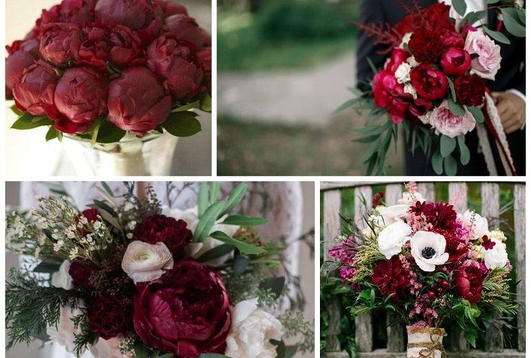 Сочетание цветов в букете