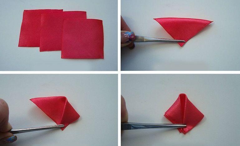 Нарезать ленты на квадраты