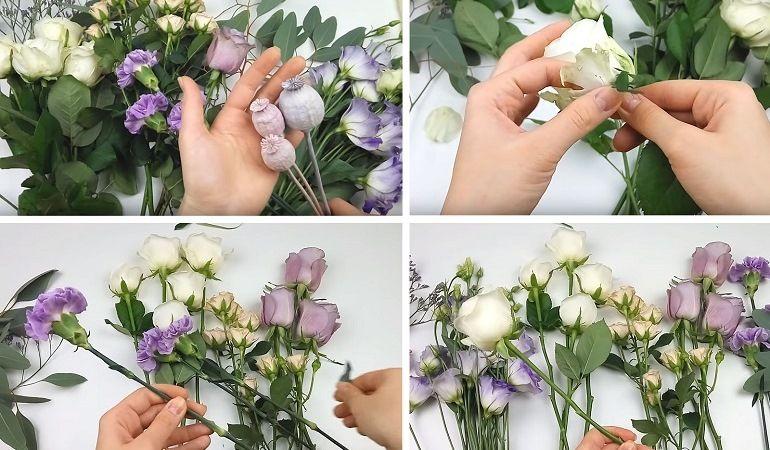 Цветы для букета - растрепыша