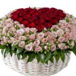 Букет роз для мамы – сделано с любовью