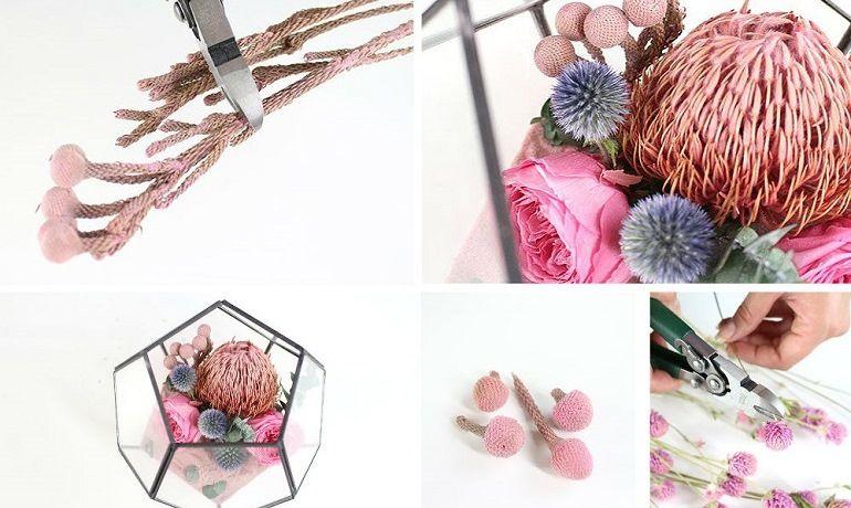 Флорариумы в цветочной композиции