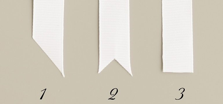 Схемы обрезки лент