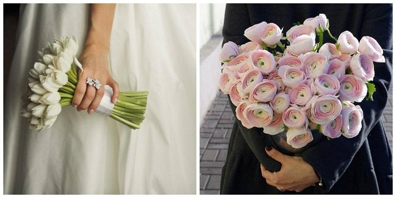 Свадебные монобукеты