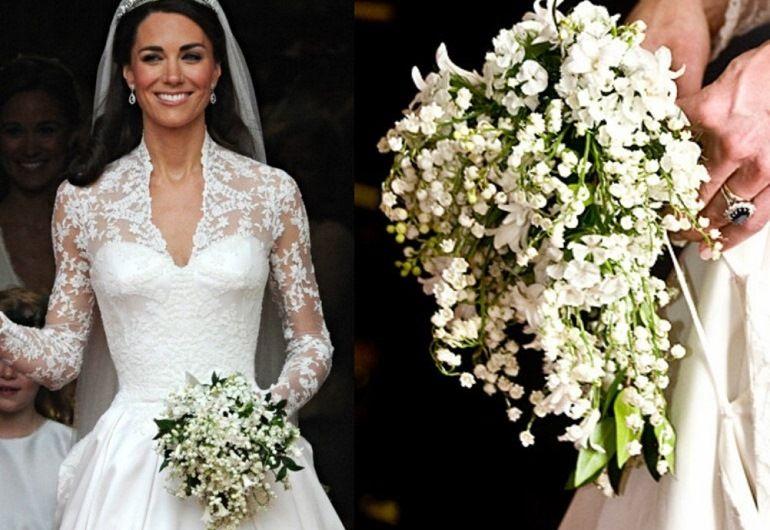Традиция составлять букет невесты в Англии
