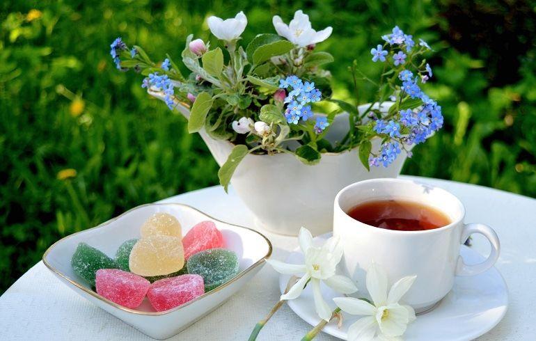 Цветы для утреннего букета
