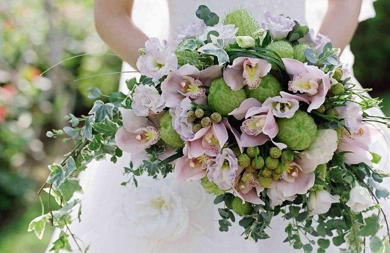Букет невесты в греческом стиле
