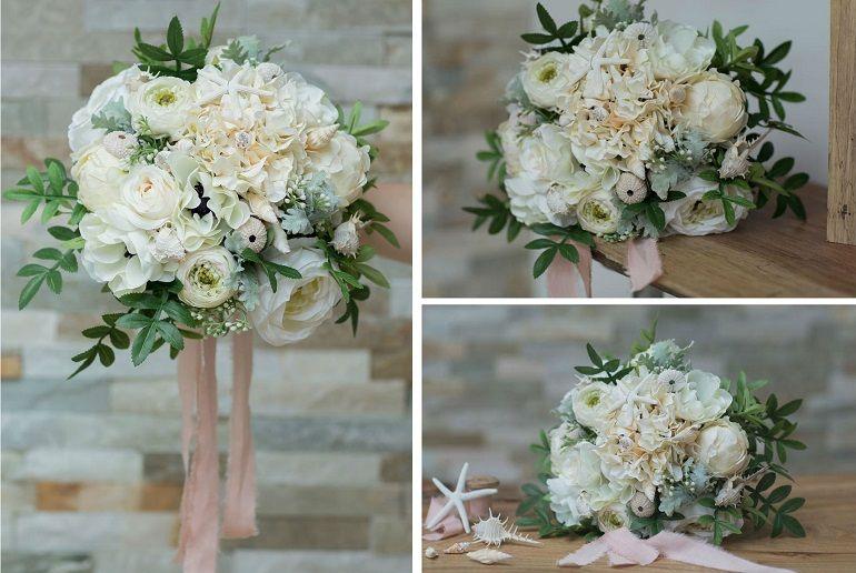 Свадебный букет в греческом стиле