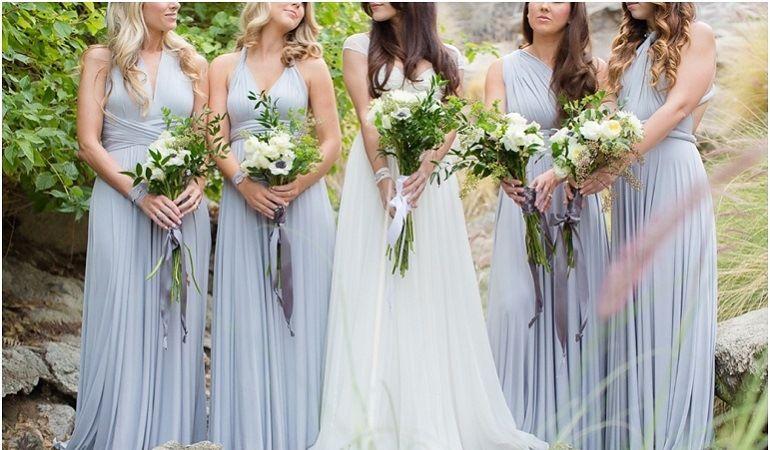 Формы букетов для свадьбы в греческом стиле