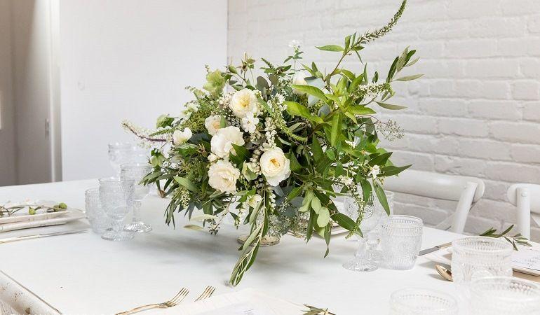 Цветы для греческой свадьбы