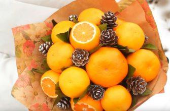 Букет из апельсинов