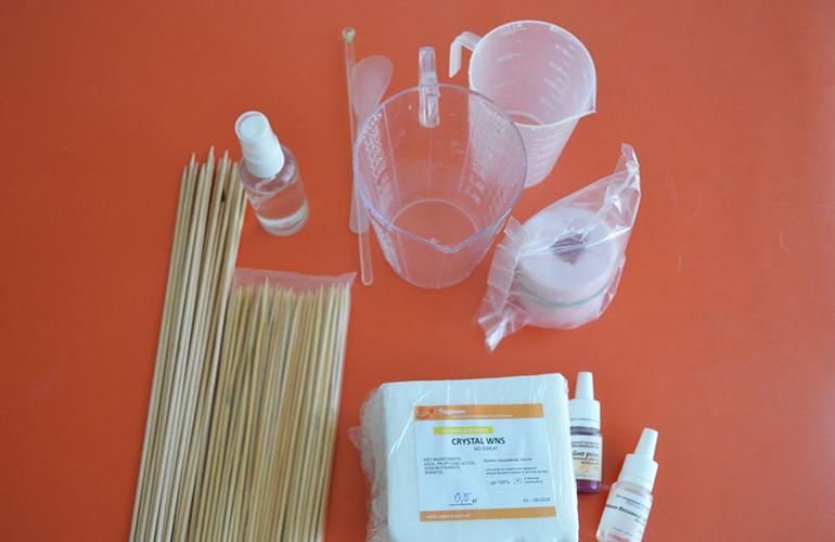 Материалы для приготовления мыла