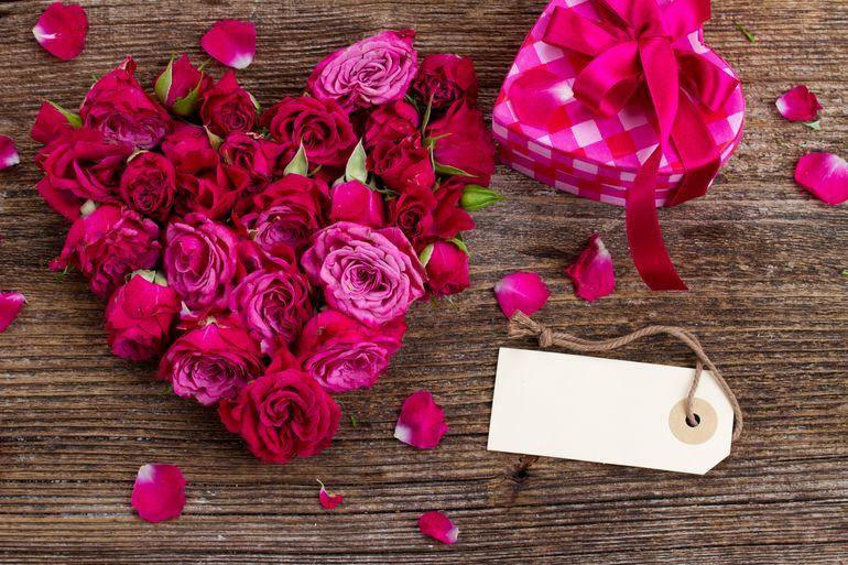 Букет роз на день Валентина