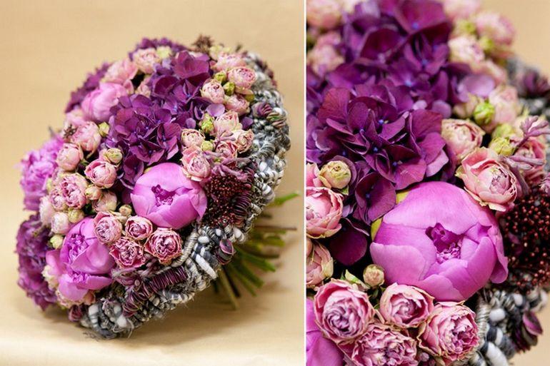 Мастер-класс по сборке каркасного букета с розами на день Валентина