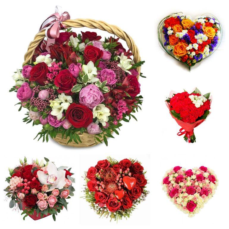 Букеты на День Валентина