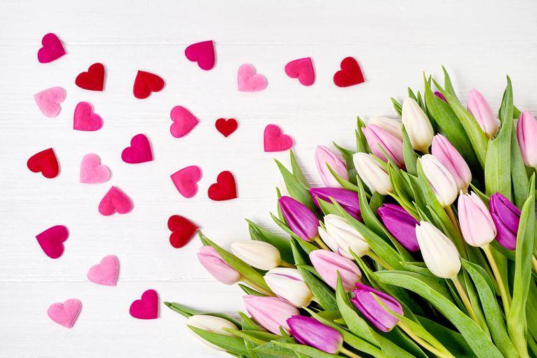 Букеты на праздник любви