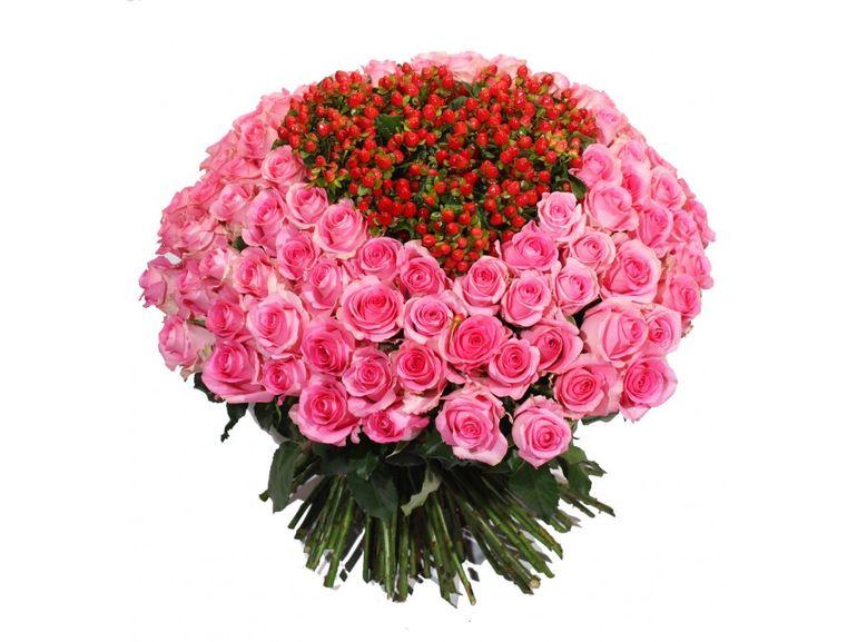 Цветы на праздник любви