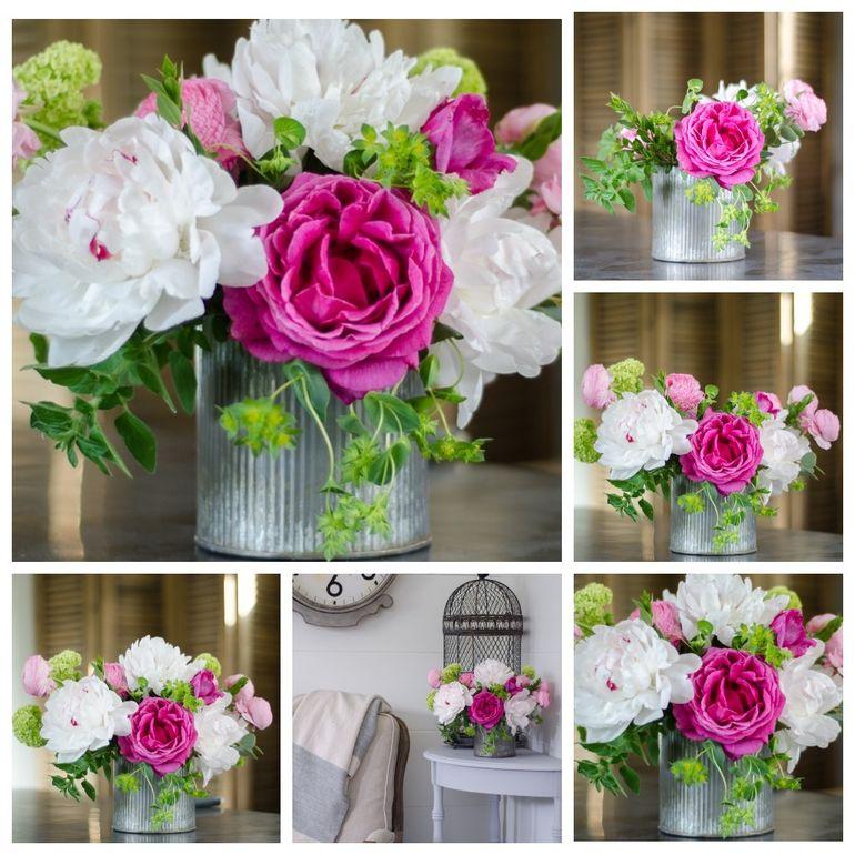 Мастер-класс по сборке букета с розами для мамы на 8 марта