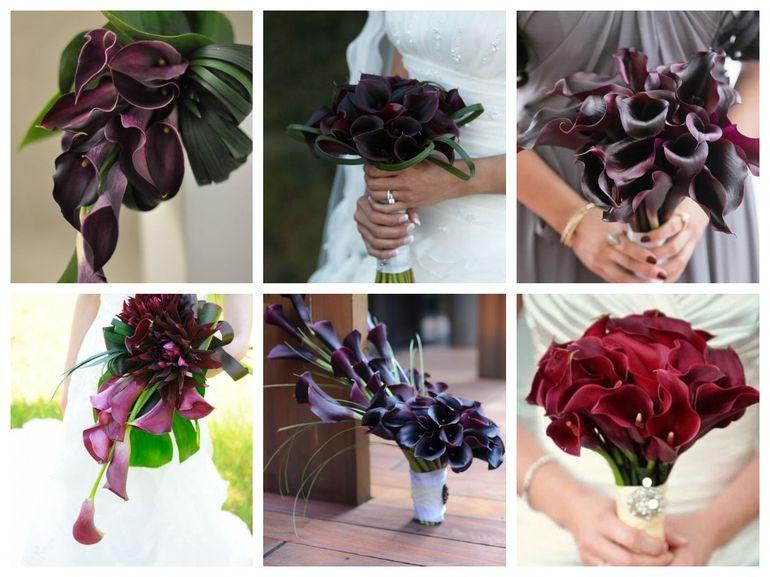 Букет из калл и роз для невесты - значение цветов